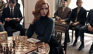 The Queen's Gambit, Netflix'te Rekor Kırdı! 28 Günde 62 Milyon Evde İzlendi