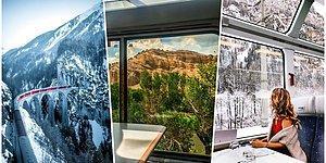 Manzara İzlemekten Yolculuğun Nasıl Geçtiğini Anlamayacağınız Dünyanın En Etkileyici 14 Treni