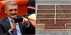 AKP'li Hamdi Çamlı, Restore Ettirdiği Tarihi Çeşmeye Babasının Adını Yazdırmış!