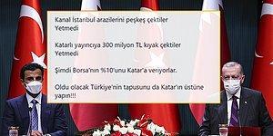 Katar'ın Borsa İstanbul'a Ortak Olmasına Tepkiler: 'Oldu Olacak Türkiye'nin Tapusunu da Katar'ın Üstüne Yapın'