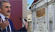 270 Yıllık Çeşmeye Babasının Adını Yazdıran AKP'li Çamlı: 'Ruhuna Değdi'