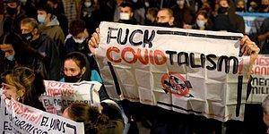 İşsiz Kaldıkları İçin İsyan Ediyorlar! Avrupa Genelinde Koronavirüs Kısıtlamaları Restoran Çalışanları Tarafından Protesto Ediliyor