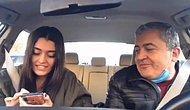 Arabada Yabancı Şarkı Söyleyen Kızına Eşlik Eden Çorumlu Babanın Muhteşem Görüntüleri