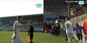 Mağlubiyetin Hıncını Top Toplayıcıdan Çıkaran Futbolcu Anıl Karaer Tepkilerin Odağında