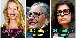 Kazançlarını Öğrendiğiniz Anda Kısa Süreli Bir Akıl Tutulması Yaşayacağınız Dünyanın En Zengin Kadınları