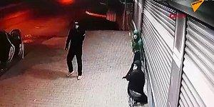 Dükkan Soymaya Çalışan Hırsızları Şişe Atarak Uyaran Vatandaş ve O Vatandaşa Taş Atan Hırsızlar