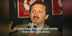 Cumhurbaşkanı Erdoğan, 1989 Yerel Seçimleri Sırasında Bir Otelde Karşılaştığı Hayat Kadınlarıyla Arasında Geçen Diyaloğu Anlatıyor