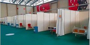 Adana'da Sahra Hastanesini Kapatmışlardı: İzmir'de Spor Salonu Revire Çevrildi