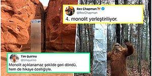 Dünyanın Farklı Yerlerinde Bir Gecede Ortaya Çıkıp Kaybolan Gizemli Monolit Goygoy Malzemesi Oldu