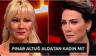 Jülide Ateş'in Programına Konuk Olan Pınar Altuğ'dan 'Aldatan Kadın mısınız?' Sorusuna Sert Çıkış: 'Sana ne? Kime ne?'