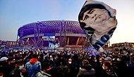Napoli'nin Stadı San Paolo'nun Adı Artık 'Diego Armando Maradona'