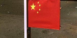 Çin, Dünya'ya Dönüş Yolculuğundan Önce Ay'a Bayrağını Dikti