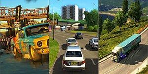 Dijitalde Bile Araç Kullanmayı Sevenlere: Yolların Keyfini Sürebileceğiniz 14 Oyun