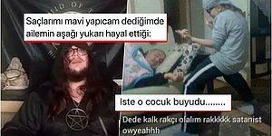 Ateizm Derneği'nin Satanizm Konulu Şeytan Selamlamalı Canlı Yayını Goygoycuların Diline Düştü