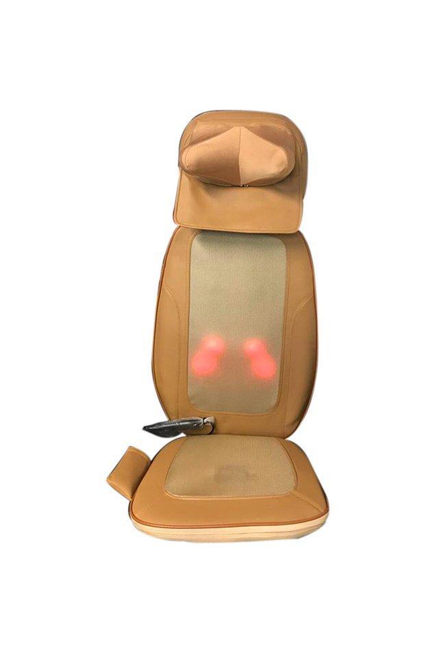 10. Masaj koltuğuna o kadar para veremem diyenler için nispeten uygun fiyatlı alternatifler de var. Mesela bu...
