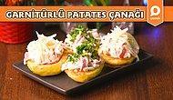 Davet Sofralarının Baş Tacı Garnitürlü Salatalı Patates Çanağı Nasıl Yapılır?