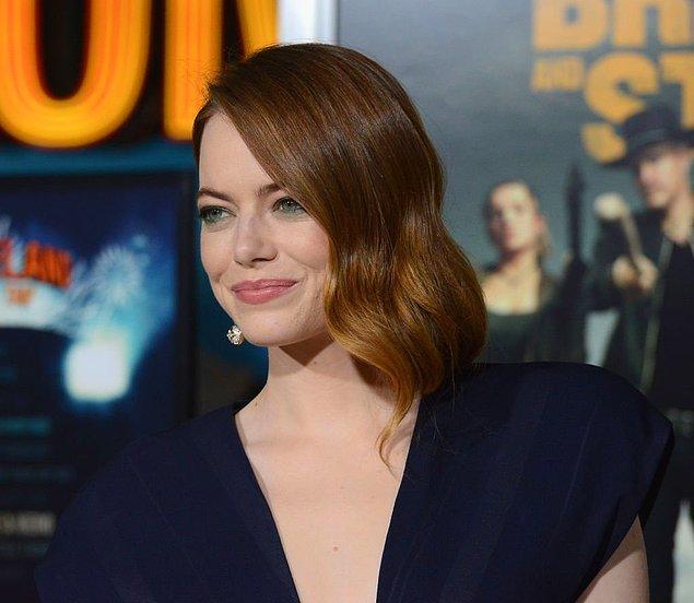 9. Emma Stone, Safdie kardeşlerin yeni projesi The Curse adlı komedi dizisinde başrolde yer alacak.