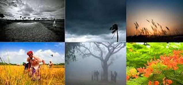 13. Sakın 4 mevsim olduğuna dair bir yanılgıya düşmeyin, bu ülkede 6 mevsim var.