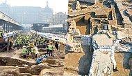 Haydarpaşa Garı Kazılarında, Mezarların Bulunduğu Mermer Tabanlı Bir Yapı Tespit Edildi