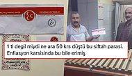 Kayseri MHP Kocasinan İlçe Teşkilatı'nın Esnafa 50 Kuruş Siftah Parası Dağıtması Tepkilerin Odağında