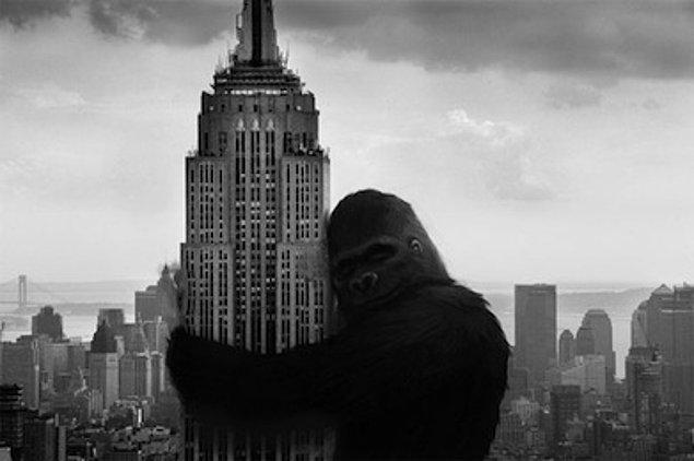5. King Kong (1933) - Dev goril sarışın kadına aşık olur.