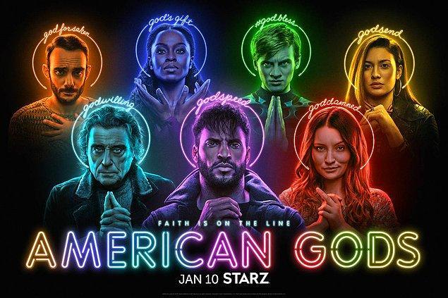 14. American Gods, 3. sezonuyla 10 Ocak'ta ekrana dönüyor.
