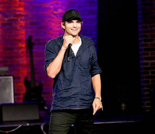 9. Ashton Kutcher'ın gerçek adı Christopher'dır.