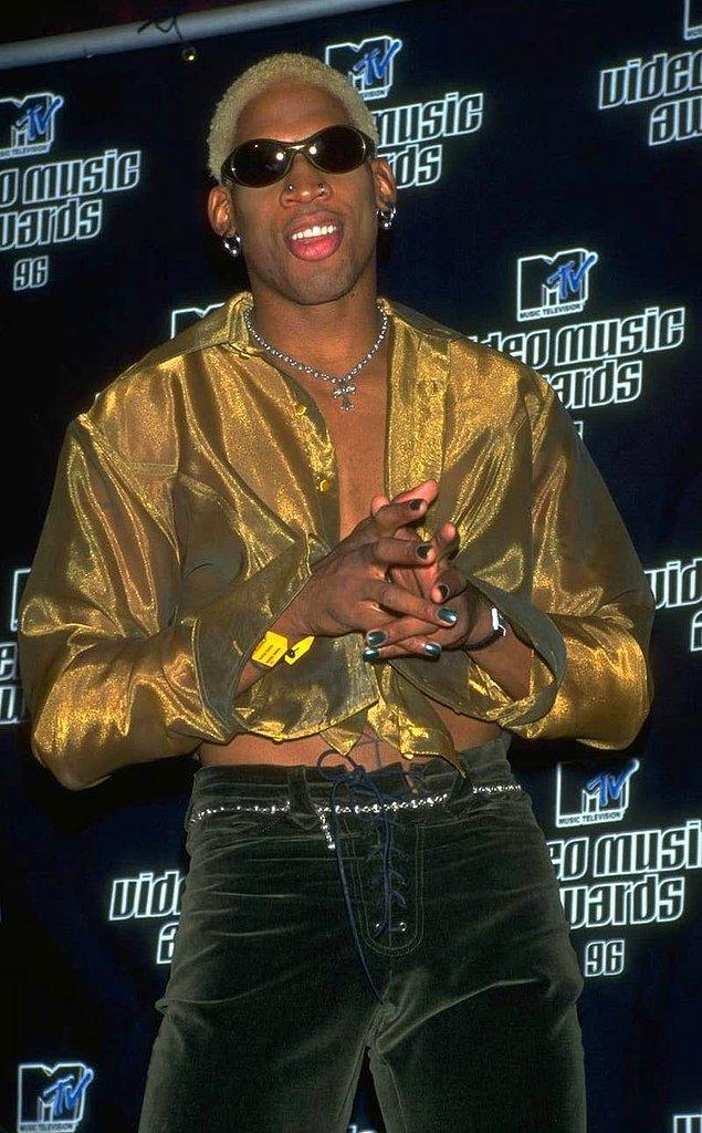 21. Dennis Rodman'ın 28 kardeşi vardır.