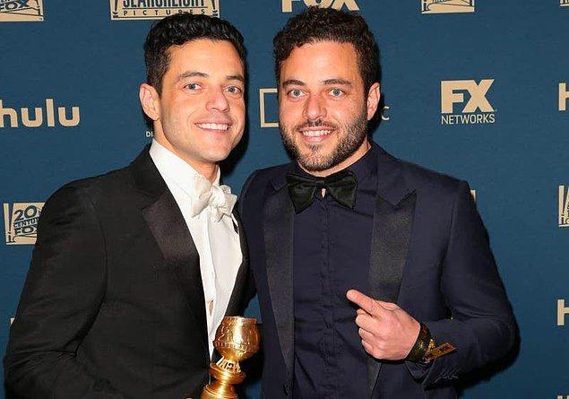 35. Rami Malek'in Sami isimli ikiz erkek kardeşi vardır.