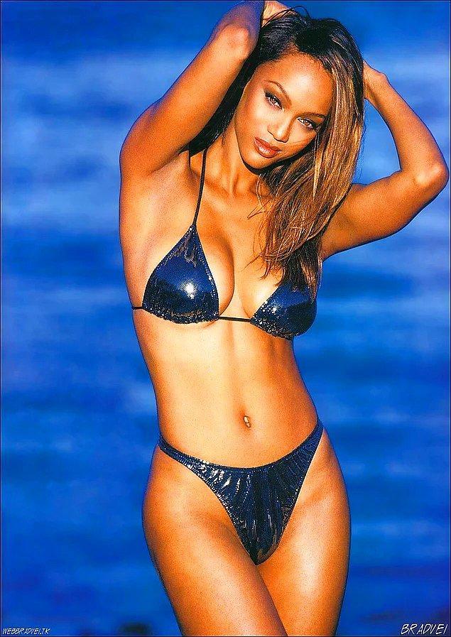 16. Tyra Banks'ın yunus fobisi vardır.