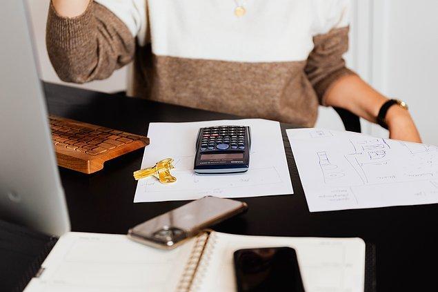 1. Bütçenizi belirlemelisiniz.