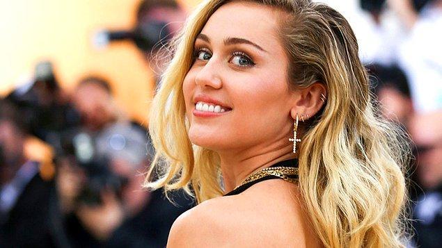 12. Miley Cyrus