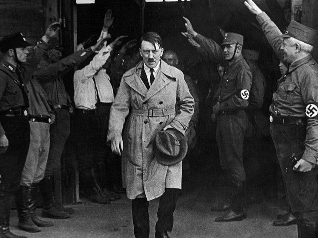 5. Adolf Hitler, I. Dünya Savaşı esnasında onbaşı olarak görev aldı.