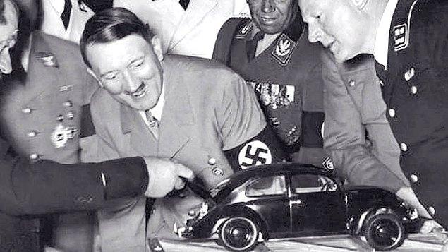 6. Wolksvagen Beetle, Adolf Hitler'in isteği üzerine üretildi.