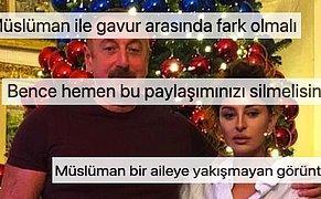 Azerbaycan First Lady'si Mehriban Aliyeva'nın Yılbaşı Ağaçlı Paylaşımının Altındaki Beyin Yakan Yorumlar
