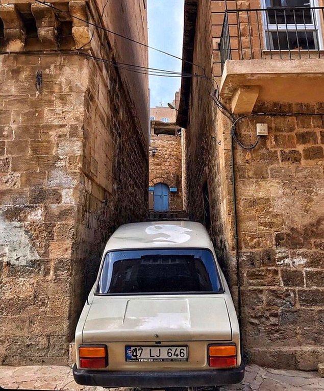 7. Sıkışmış arabalar görebilirsiniz, sakın şaşırmayın.