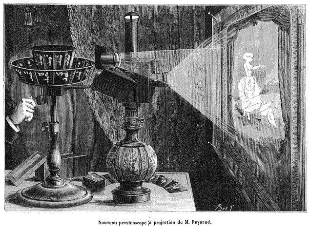14. İlk kinetoskop