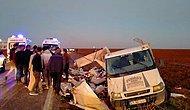 Mardin'de Tarım İşçilerini Taşıyan Kamyonet Devrildi: 22 Yaralı