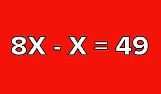 Bu Basit Denklemlerde X'i Bulabilecek misin?