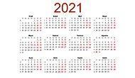 2021'de Resmi Tatiller Hangi Günlere Denk Geliyor? İşte 2021 Resmi Tatiller Takvimi...