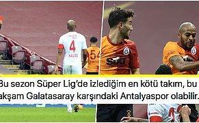 Arena'da Kazanan Yok! Maçı 10 Kişi Tamamlayan Galatasaray, Antalyaspor'a Takıldı