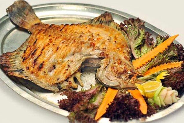 Fırında Kalkan Balığı Tarifi: