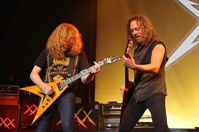 11. Dave Mustaine, 1983 yılında gruptan atıldıktan sonra yerine Kirk Hammet geçmiştir. Mustaine ise ardından kendi grubunu kurmuştur ve o dönem verdiği bir röportajda...