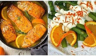Sadece Tatlılara Özgü Olmadığını Kanıtlar Nitelikte Nefis Portakallı Yemek Tarifleri