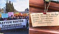 Boğaziçi Üniversitesi'nde 'Atanmış Rektör' Protestosu: Öğrenciler Rektörlüğü Mühürledi