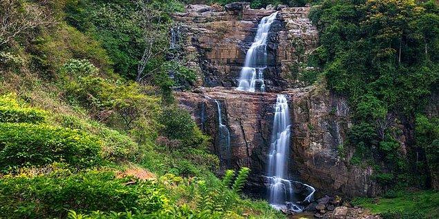 29. Sri Lanka'da 100'den fazla şelale bulunur.