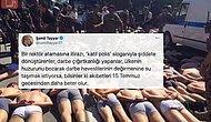 Şamil Tayyar'dan Boğaziçi Öğrencilerine Darbe Fotoğraflarıyla Tehdit