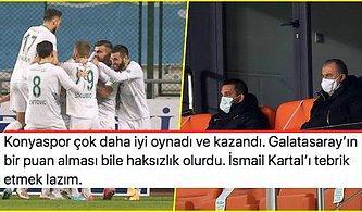 Gol Düellosunda Kazanan Konya! Eksik Galatasaray 27 Maç Sonra Konyaspor'a Mağlup Oldu