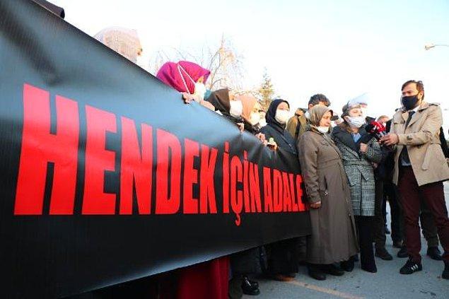 İşçiler ve hayatını kaybedenlerin yakınlarından adliye önünde açıklama: 'Defalarca uyarılar yapıldı'