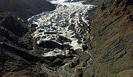 Çinli Bilim İnsanları, Erimesini Önlemek İçin Buzulları Örtülerle Kaplıyor
